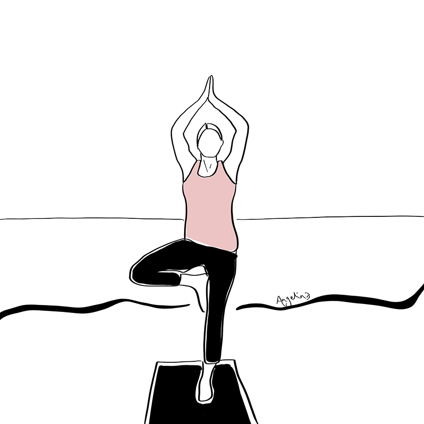 Yoga-Art-Illustration