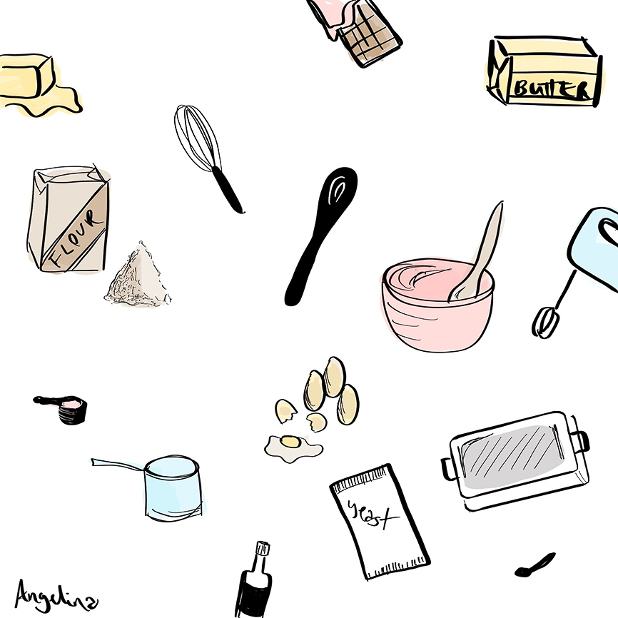 Cooking-Beauty-Art-Illustration