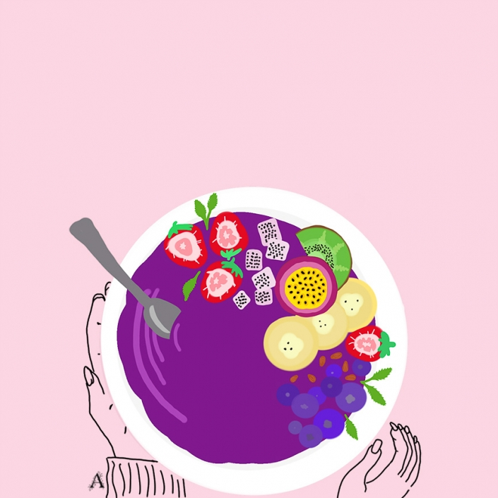Acai-bowl-Art-Illustration