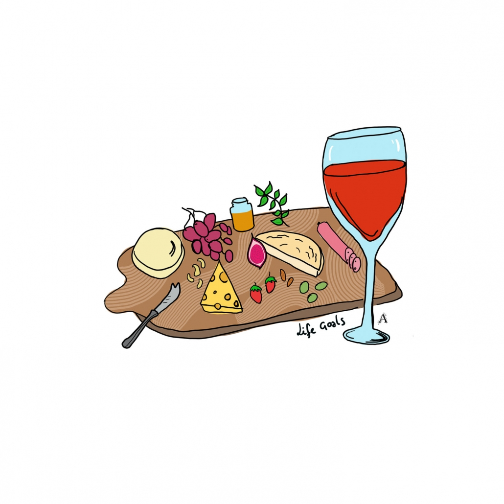 Cheese-platter-Art-Illustration